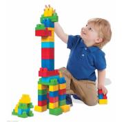 Bag Mega First Builders Big Building Classic 80 Piece Bloks Kids Blocks Set