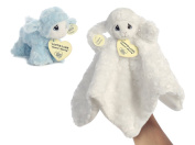 Precious Moments Luffie Lamb Baby Luvie and Rattle Set - Blue