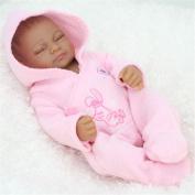 28cm Reborn Baby Alive Dolls African American Baby Doll Black Girl Full Silicone Body