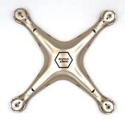 Qsmily® SYMA X8HC Quadcopter Spare Parts Upper Body Shell Cover Gold
