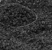 Black - Terra Texture Garden Flakes - 106-0748