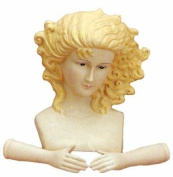 Large Vinyl Blonde Angel Doll Head & Hands for Your Christmas Nativity Craft Project or Other Doll Making.- Package of 4