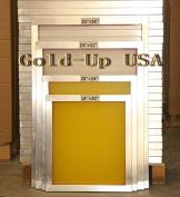 Aluminium Screen Printing Frames AL 60cm x 80cm with 200 Yellow Mesh