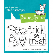 Lawn Fawn Clear Stamps - Trick Or Treat #LF554