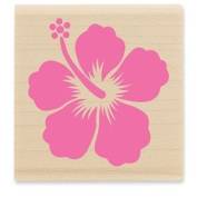 Hibiscus Rubber Stamp