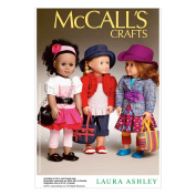 McCall Pattern Company M6764 Clothes and Accessories Sewing Template for 46cm Doll, One Size Only