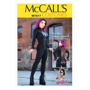 McCall's Patterns M7217 Misses' Zippered Bodysuit by Yaya Han Sewing Template, A5
