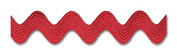RED 1.3cm MIDDY RIC RAC 24 Yards