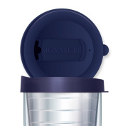 Signature Tumblers Travel Tumbler Cup Two Position Closure Lid