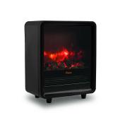 Crane USA EE-8075BK Crane Fireplace Space Heater, Black