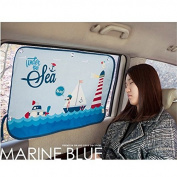 Car Sun Shade Curtain for Side Window for baby kids children - Car Sunshade Protector - Protect kids and pets from sun glare and heat. - Design Car Interior Sun Blocker Blind