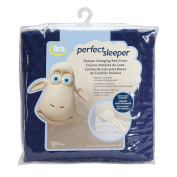 Serta Perfect Sleeper Changing Pad Cover Set, Navy