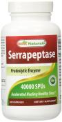 Best Naturals Serrapeptase 40000 SPUs 180 Capsules