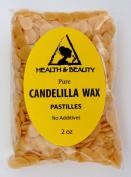 Candelilla Wax Flakes Organic Vegan Pastilles Beards Premium Prime Grade A 100% Pure 60ml
