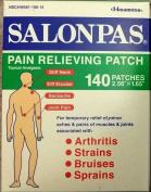 SALONPAS 140 ct Pain Relieving Patches external Arthritis Back Relief Salon Pas