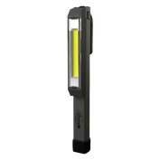 Nebo 6352 Larry C 170 lm C-O-B LED Power Work Flashlight with 3 AAA Batteries Included, Grey
