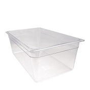 Cambro Manufacturing 18CW135 Camwear Food Pan Full Size Clear 20cm