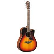 Yamaha A-Series A1M Cutaway Acoustic-Electric Guitar with Case, Vintage Sunburst