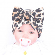 Culater® Fashion Newborn Baby Hats With Leopard Flower Hat