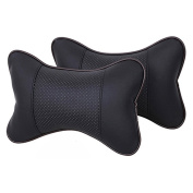 Bluelans® 2 x Head Neck Rest / Neck Support Travel Cushion Pillow, Great for Car Seats