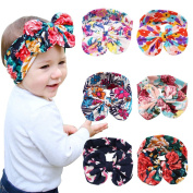 Itaar Baby's Headband Hair Bands Set with Cute Rabbit Ear - 6PCS