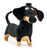 "The Secret Life of Pets - Buddy, black dog with brown spots 9""/23cm - Quality Super soft"
