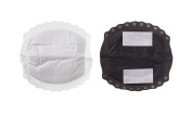 Nuby Natural Touch Disposable Breast Pads - Black and White, 50 Pads