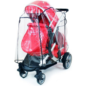 iSafe Tandem Raincover to Fit - Britax B Ready Twin Tandem