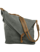 Youlee Canvas Shoulder Bags Messenger Bags Travel Bags Shopping Bags Deep Grey