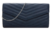 Girly HandBags Quilted Clutch Bag