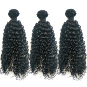 Ohlees® 7A Unprocessed Brazilian Virgin Hair Afro Kinky Wefts Curly Hair Weave 100% Hair Extensions Remy Bundles Products 3 pcs/lot