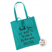 Thank You For Giving Me The Wings To Fly This Year 100% Cotton Tote Bag Gift Present End Of Term Teacher Gift