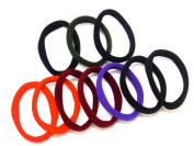 Women Ladies Quality Thick Snag Free Elastics Hair Elastics Pony Tail Holders Hair Bands