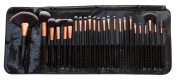 Rio Professional Cosmetic Make Up Brush Set - 24-Piece