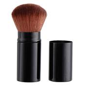Professional Retractable Blush Brush Kabuki Blusher Makeup Brush, Perfect for Travel