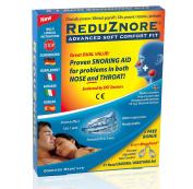 ReduZnore Snoring Aid NEW Soft Comfort Fit plus Bonus Nasal Breathing Aid MegaVent