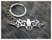 Steampunk Bat Keychain