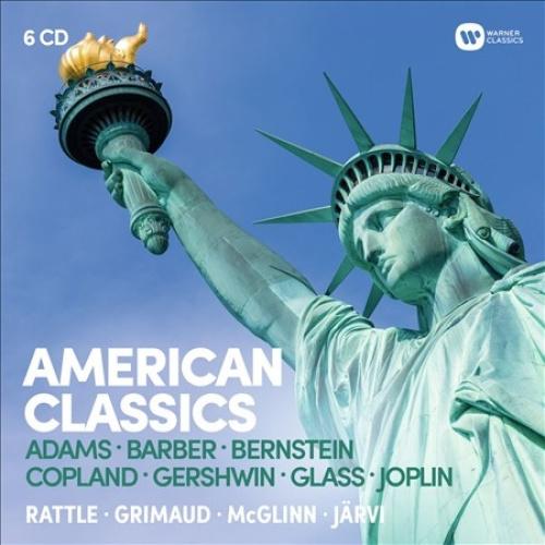 American Classics: Adams, Barber, Bernstein, Copland, Gershwin, Glass, Joplin.