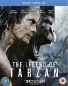 The Legend of Tarzan [Regions 1,2,3] [Blu-ray]
