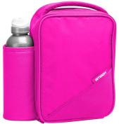 Smash Pink Lunch Bag/Box and 500ml Bottle Set