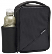 Smash Black Lunch Bag/Box and 500ml Bottle Set