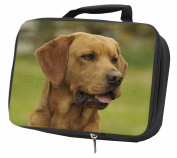 Fox Red Labrador Black Insulated Lunch Box