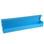 YIJIA Plastic Kitchen Foil And Cling Film Wrap Dispenser Cutter Colour Random