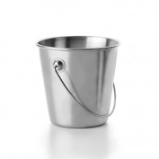 Ibili 711809 Bucket Stainless Steel 9 cm Grey