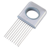 Lalang Stainless Steel Onion Holder Tomato Fork Cutter