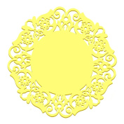 Qingsun Silicone Anti-slip Insulation Pads Table Pad Candy-coloured Bowls Doily Mat Place Mat