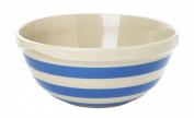 Cornishware Blue and White Stripe Stoneware Mixing Bowl 25cm