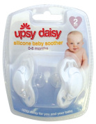Upsy Daisy Silicone Soothers