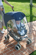 PRINCE LIONHEART® Pushchair Push Chair Pram Stroller Buggy Baby Seat Raincover Rain Wind Cover