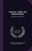 Attorney, Judge, and Oakland Mayor